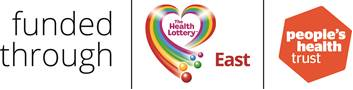 funded through the health lottery east and people's heath trust